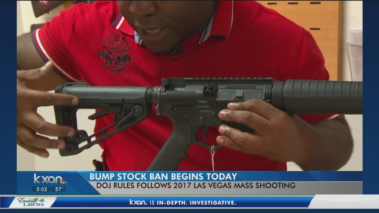 Bump stock ban goes into effect, but the legal fight is far from over