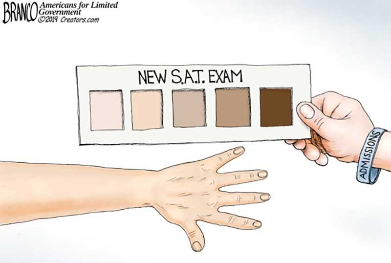 Skin Deep SAT Scores