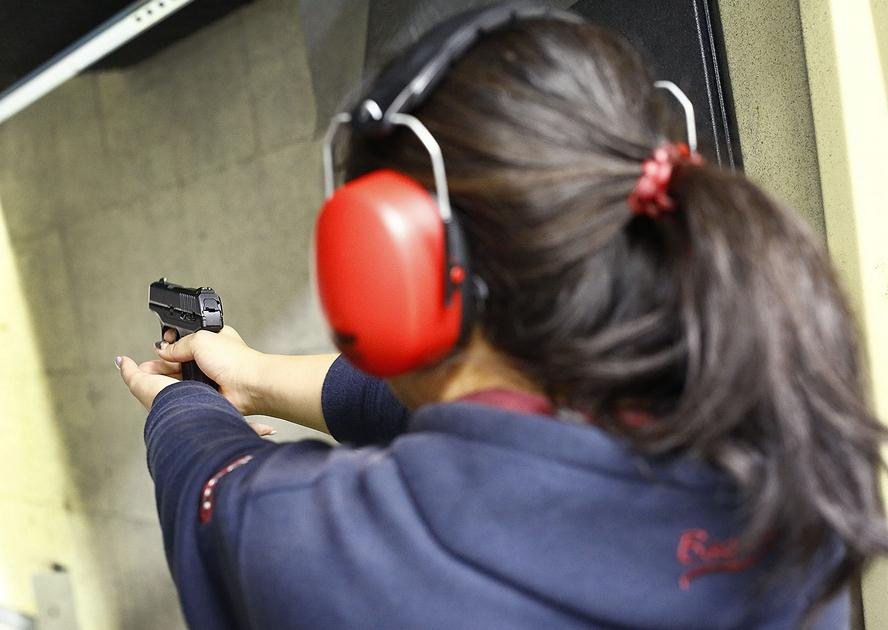 As debate over gun control wears on, more and more South Shore residents are getting licensed