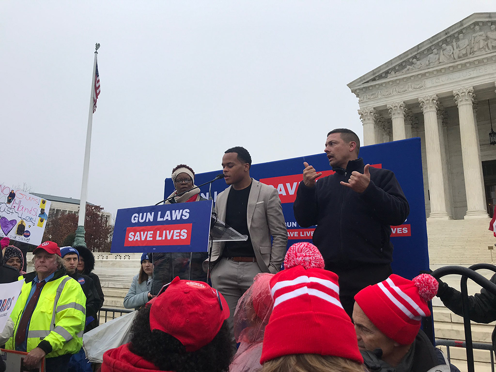 GU March for Our Lives Calls For Gun Reform at SCOTUS
