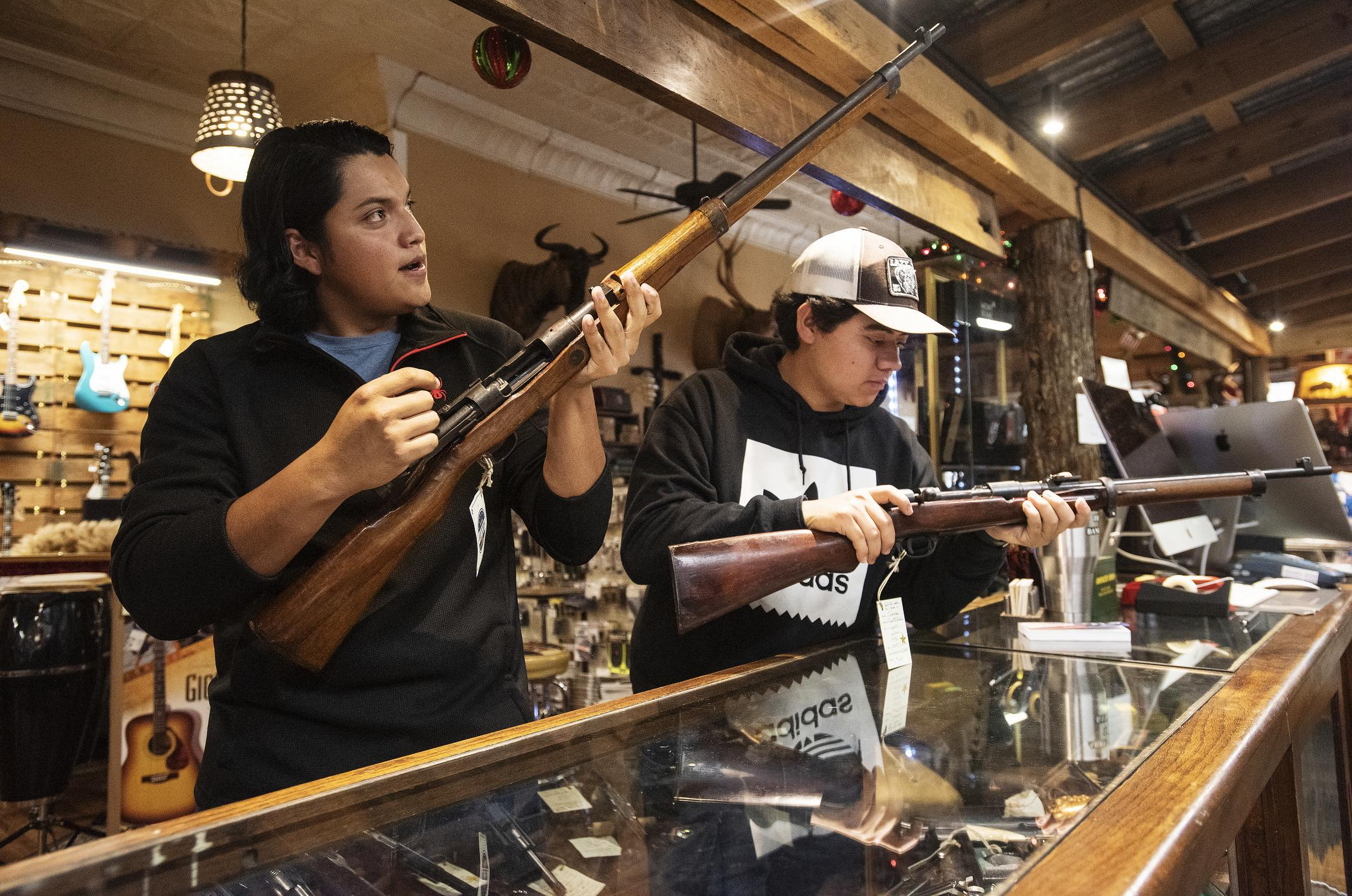 National gun sales reach record while new laws slow gun purchases in Spokane